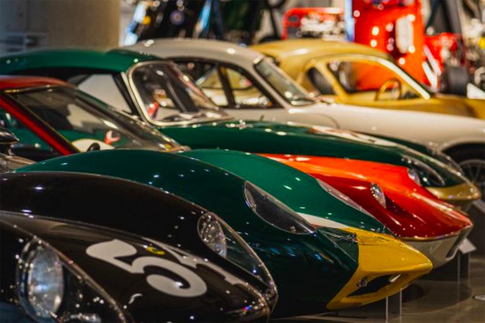 Barber Vintage Motor Museum Lotus Racers