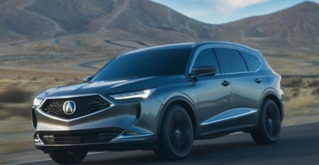 2022 Acura MDX Rolls Into Showrooms