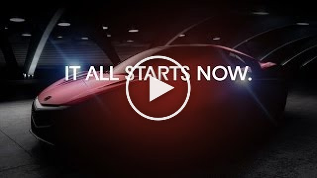 Acura - All New NSX – Sneak Peek